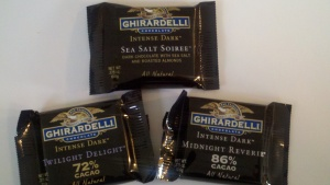Intense Dark Chocolates from Ghirardelli