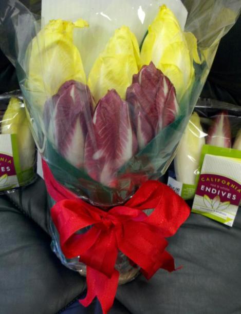 Endive bouquet