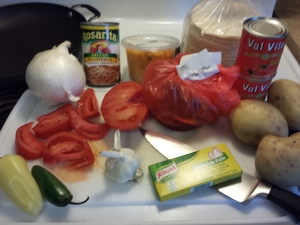 Ingredients for Viste Ranchero
