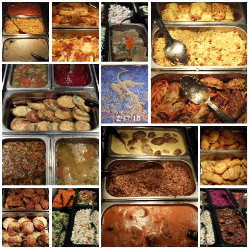 Slavic foods at Firebird