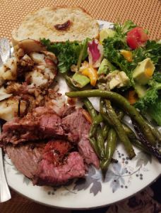 Family feast